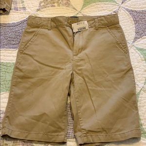 Brand new with tags khaki shorts